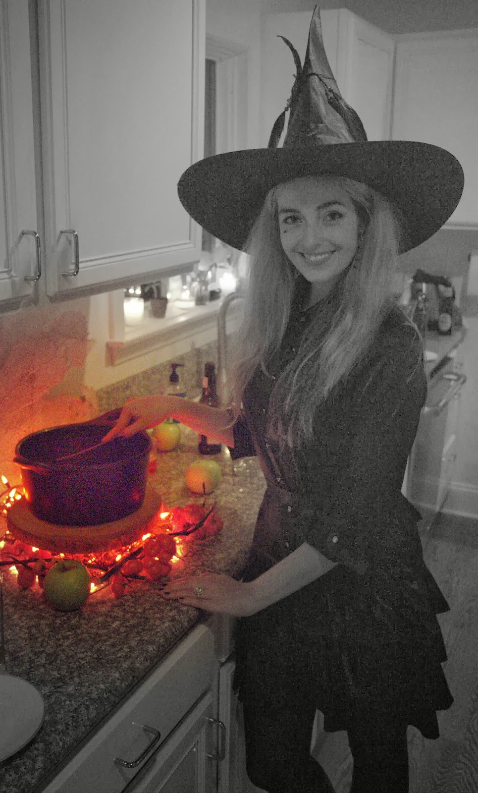 Tending to my Witch's Brew  - Spooky Glam Halloween Party