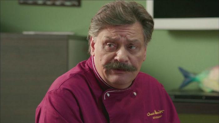 Фото шефа из сериала кухня
