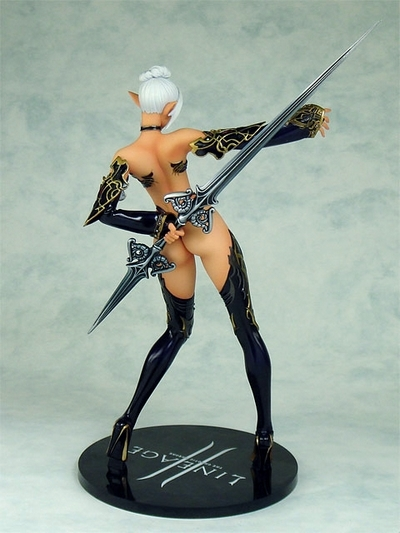 Lineage II Dark PVC Elf Figure Good Smile