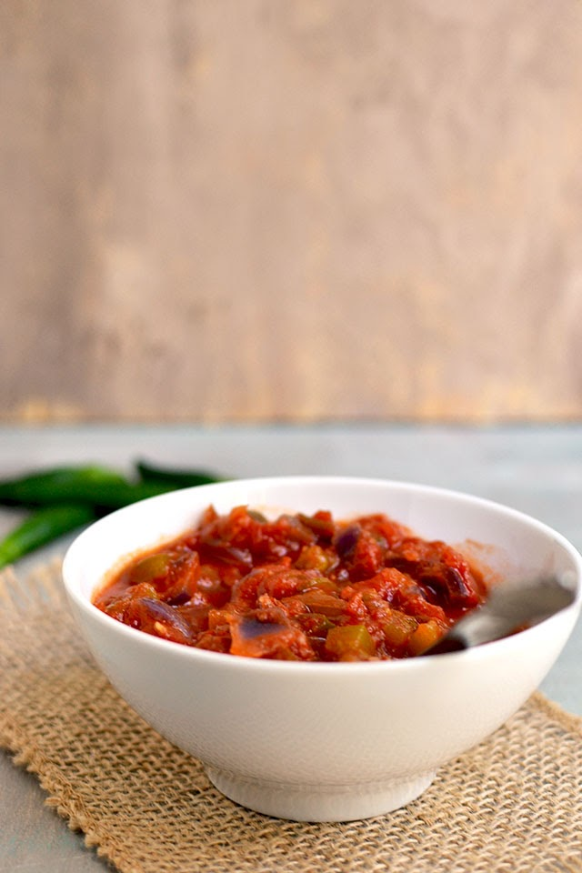 Spicy Tomato & Pepper Salsa