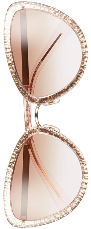 kate spade new york 'klaudia' 57mm cat eye sunglasses