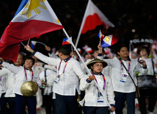 London 2012 Olympics Opening Ceremony PHILIPPINE DELEGATES