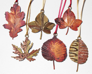 Lovely leafy decorations