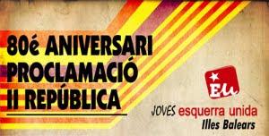 14 d'Abril 2011 - 80é Aniversari de la II República