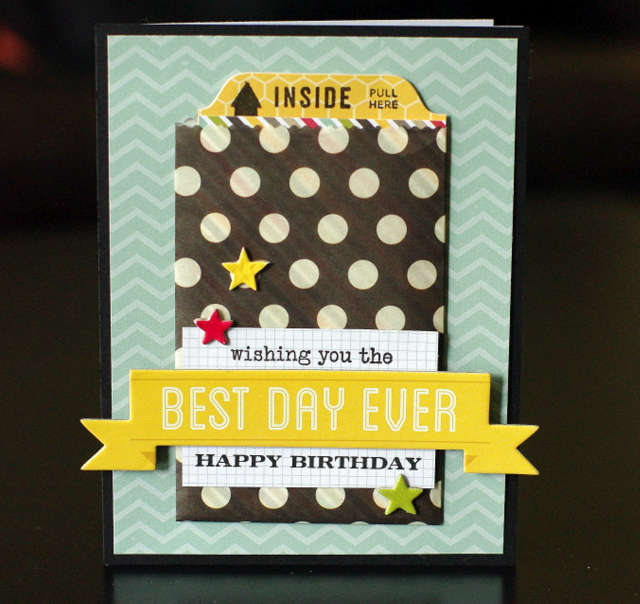 TO THE FULL An interactive birthday card – Interactive Birthday Card