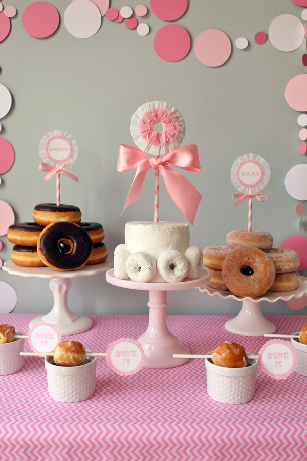 Icing Designs Donut Party