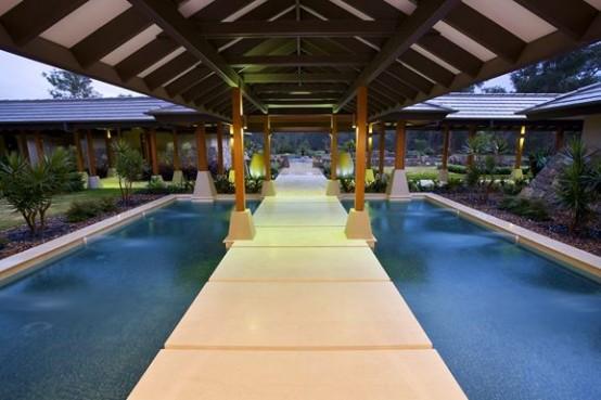 Luxurious Dream House Interior Design Corridor Design