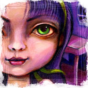 Anioł ma zielone oczy...