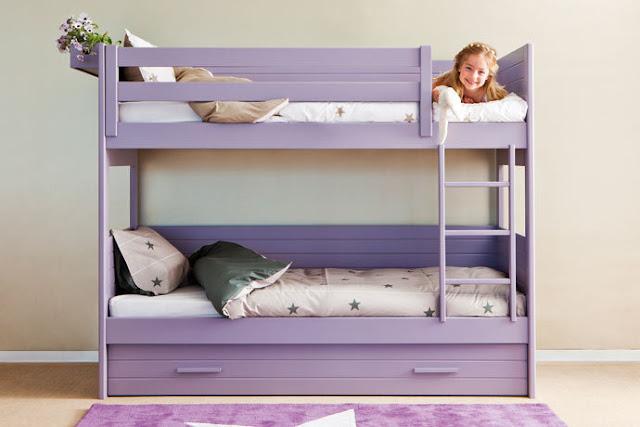 Litera con cama nido