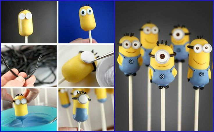 Images Of Minion Cake Pops : Sabor de Fiesta : Cake pops Minion
