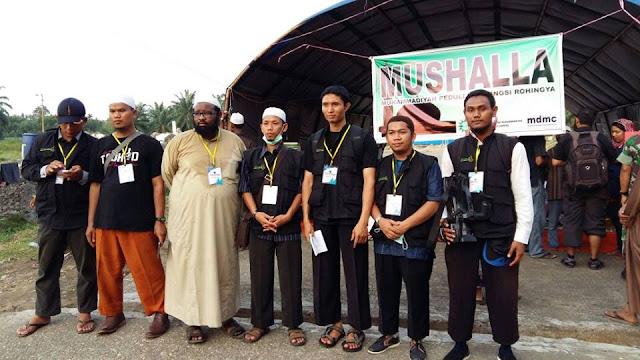 bantuan yayasan arrisalah alkhairiyyah sampai di kamp muslim rohingya