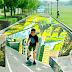 Esta é a maior e mais longa pintura de rua em 3D do mundo