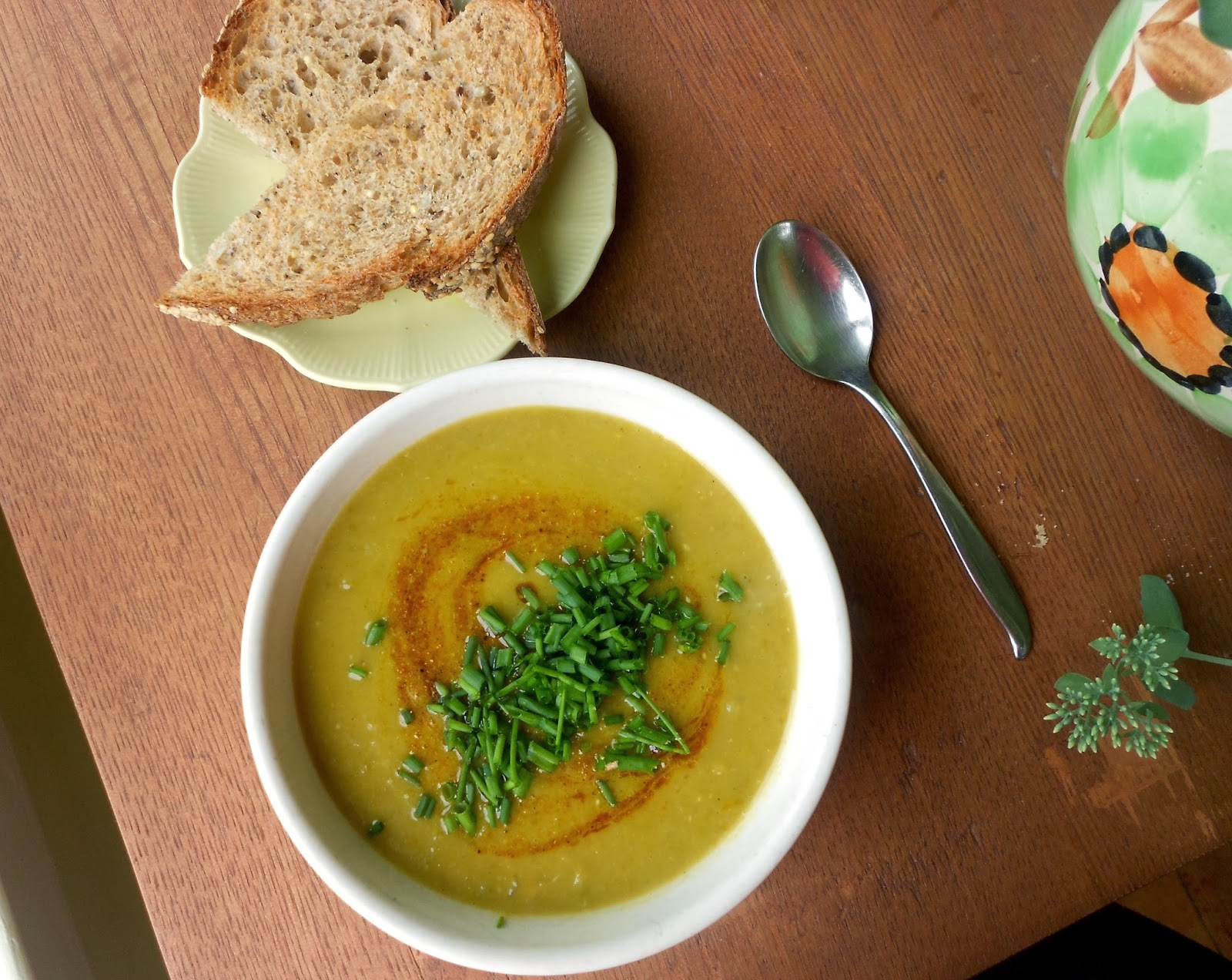 ... in everything, cozy evenings indoors, and TONS of thick, hearty soup