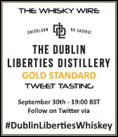 Dublin Liberties Distillery Tweet Tasting