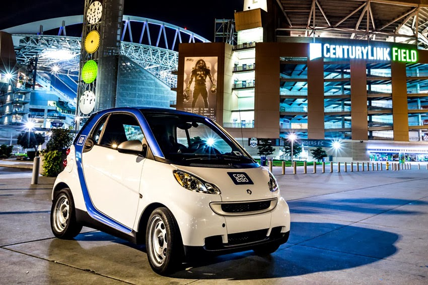 Smart Car Seattle: Car2go Celebrates One Year Of Carsharing In Seattle