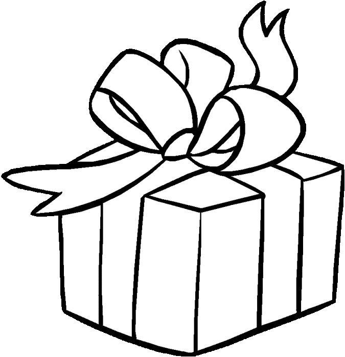 Hermoso regalo de cumpleaños para pintar y colorear | Dibujos para ...
