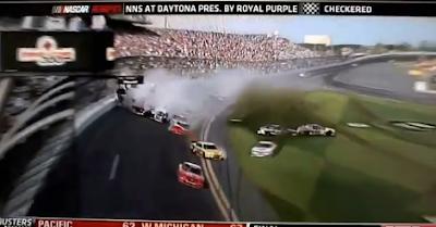 Acidente Nascar 2013 Daytona Nationwide Race