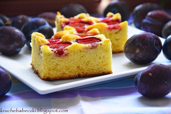 Ciasto ze śliwkami dokładnie zważone wg Ewy Wachowicz