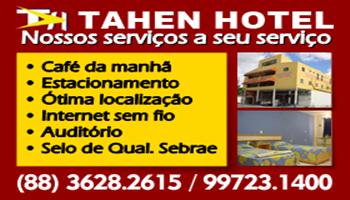 TAHEN HOTEL EM SANTA QUITÉRIA