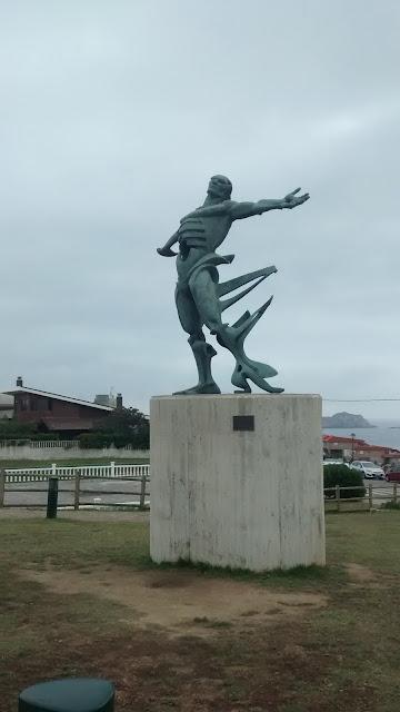 Escultura Playa Los Locos