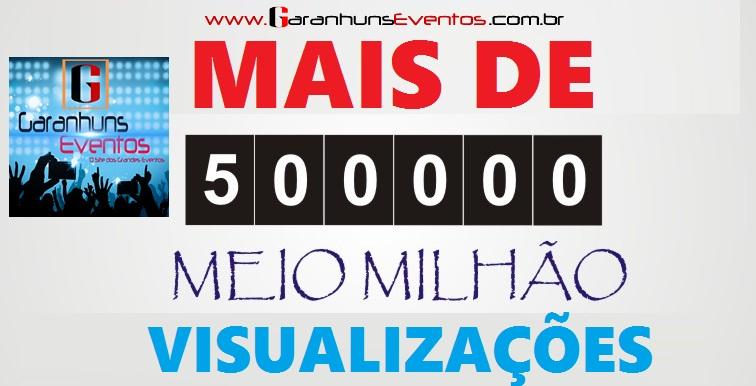 >>>>>MAIS DE MEIO MILHÃO