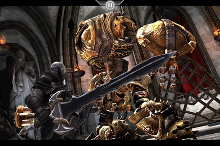 Infinity Blade iOS game released on AppStore