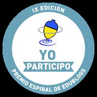 PREMIO ESPIRAL DE EDUBLOG