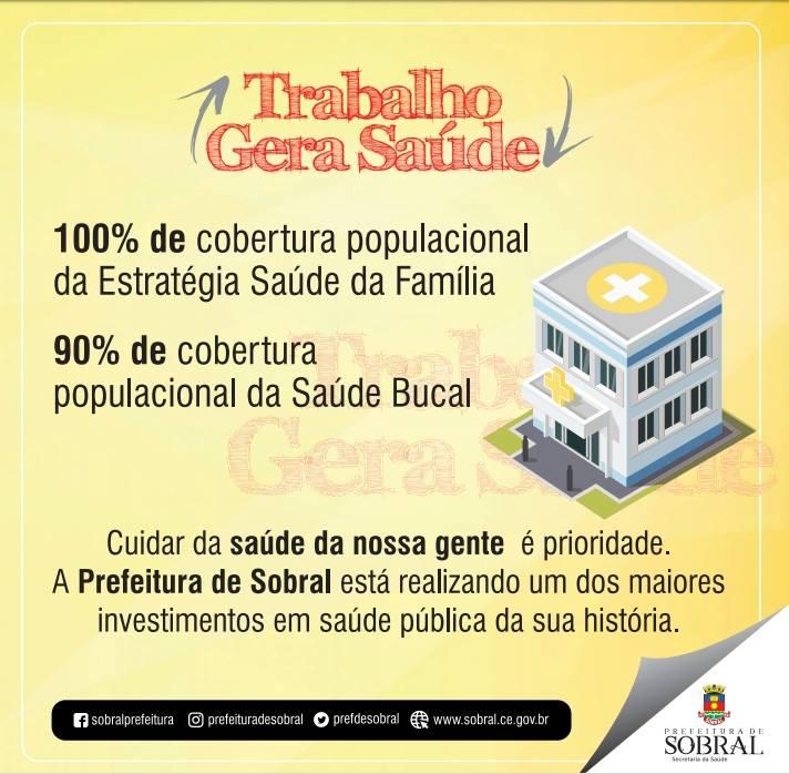 TRABALHO GERA SAÚDE