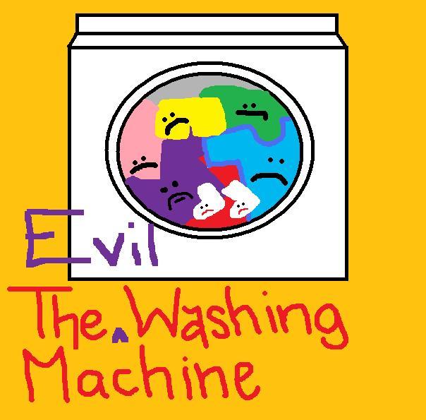 evil washing machine