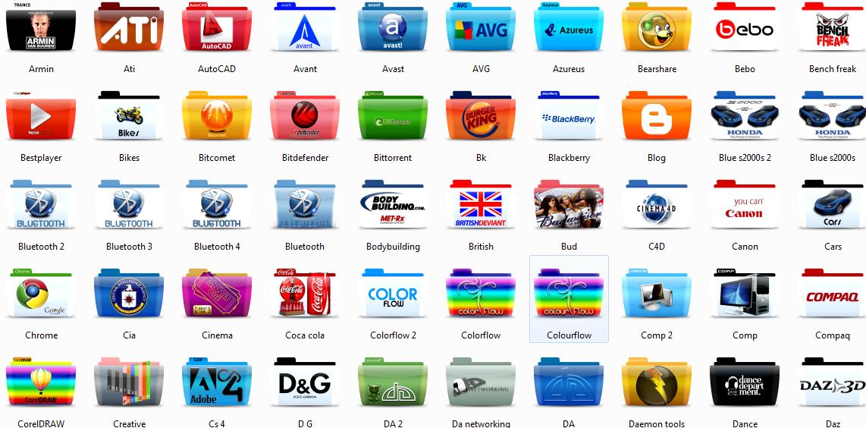 350 Brand Name Icons