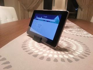 3D Yazıcı ile Üretilmiş Nexus 7 Stand