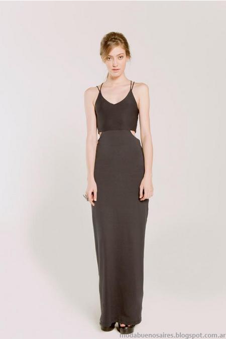 Allo Martinez moda 2013 vestidos largos 2013