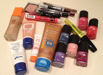 Rimmel goodie bag
