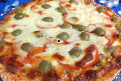 طريقه عمل بيتزا سهله وسريعه, بيتزا سهله, البيتزا, بيتزا