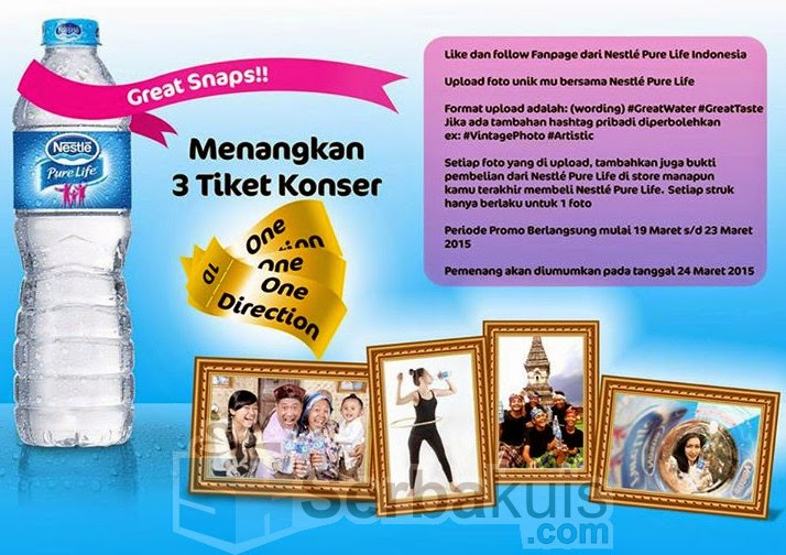 Kontes Foto Great Snaps Berhadiah 3 Tiket Konser One Direction GRATIS