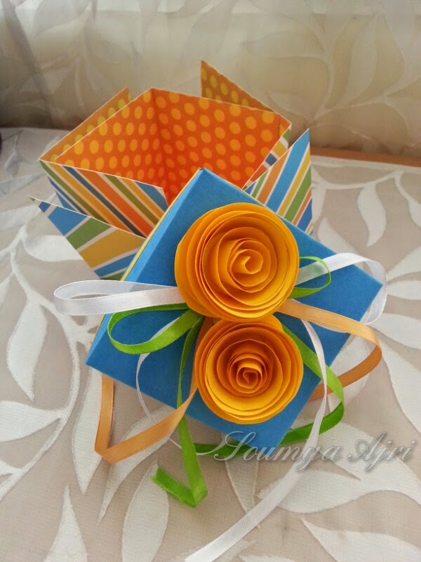 Gift Box shaped Photo album