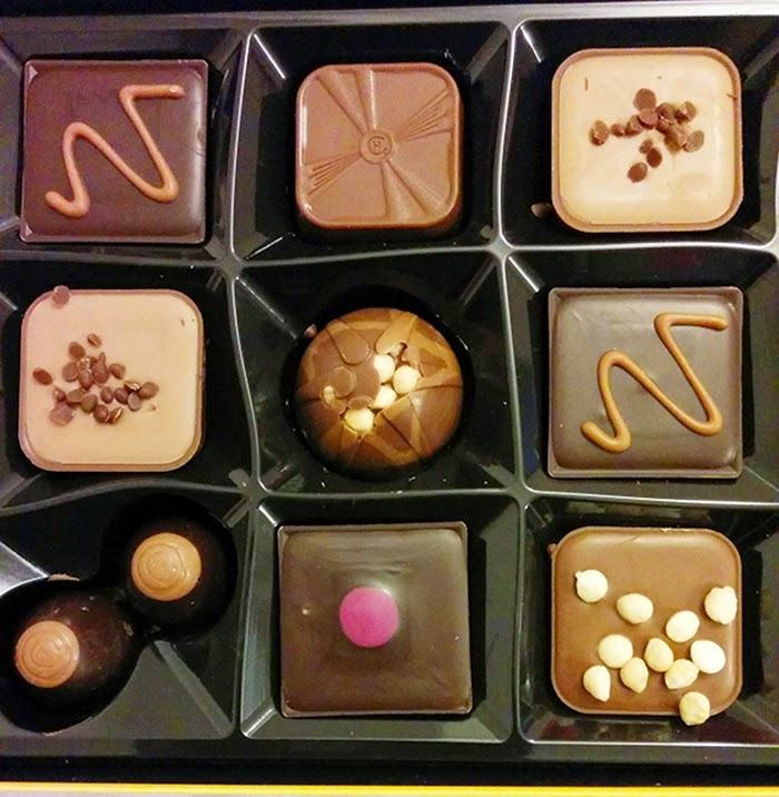 Caramel Selection Hotel Chocolat Chocolate