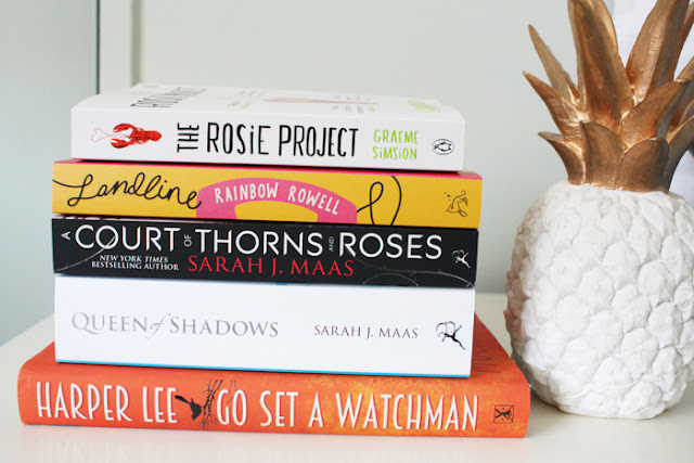 My August Book Haul