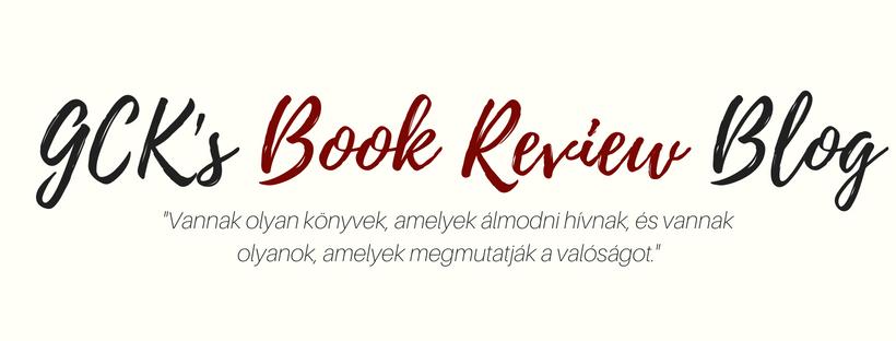 GCK's Book Review Blog