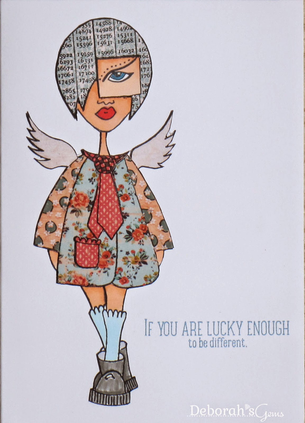 Lucky Enough - photo by Deborah Frings - Deborah's Gems