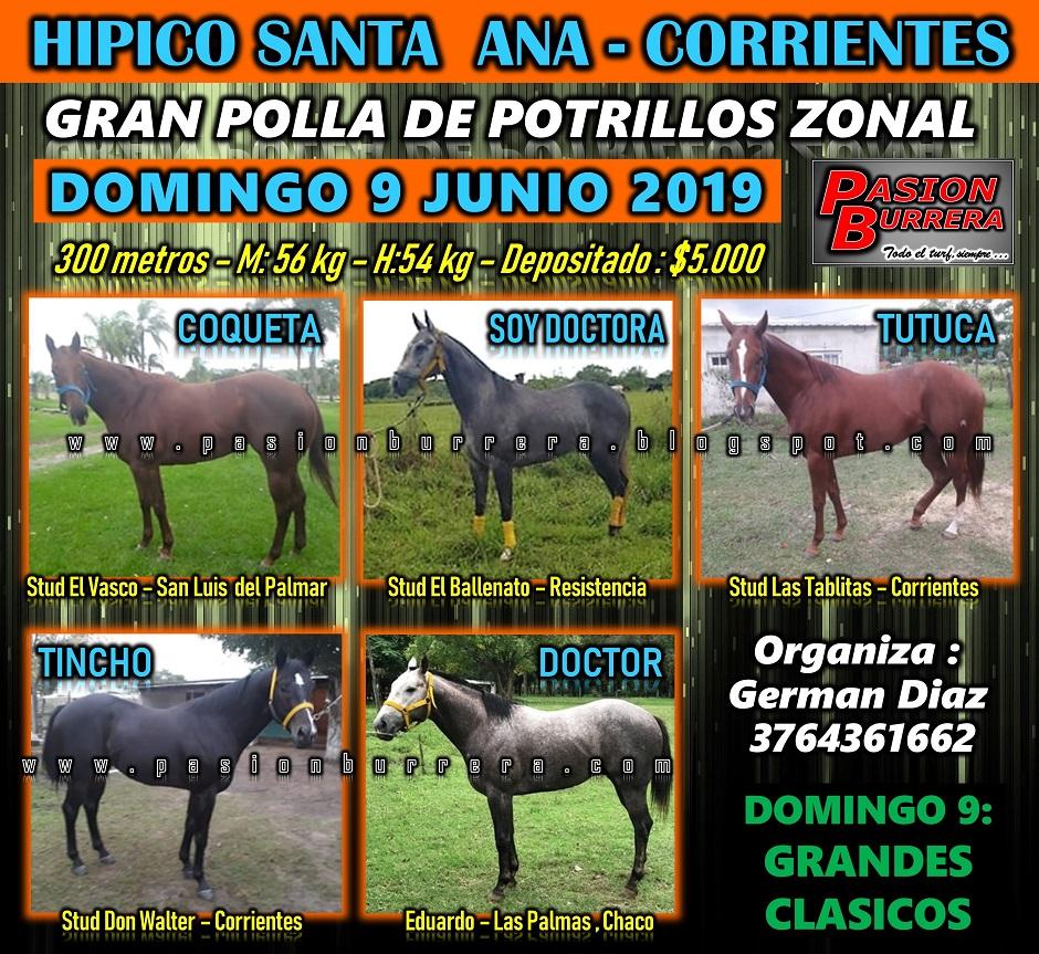 SANTA ANA - POLLA ZONAL - 9 JUNIO