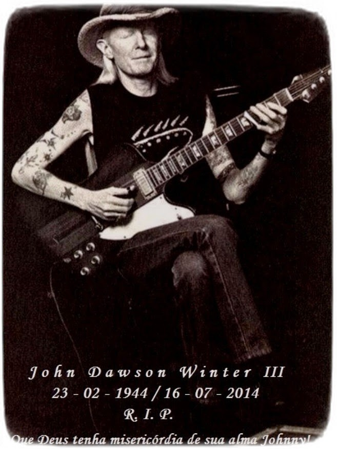 JOHNNY WINTER R.I.P.