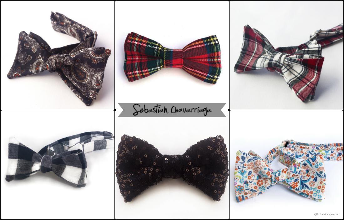 Sebastian Chavarriaga moda pajaritas bow tie elegancia estilo