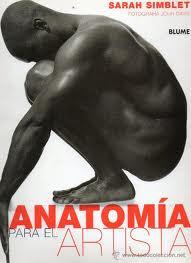 Portada del libro Anatomia para el artista recomendado por la academia de dibujo Artistas6 de Madrid para aprender a dibujar la figura humana