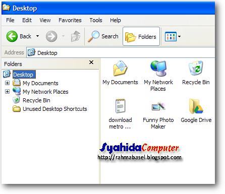 computer tidak muncul di windows explorer
