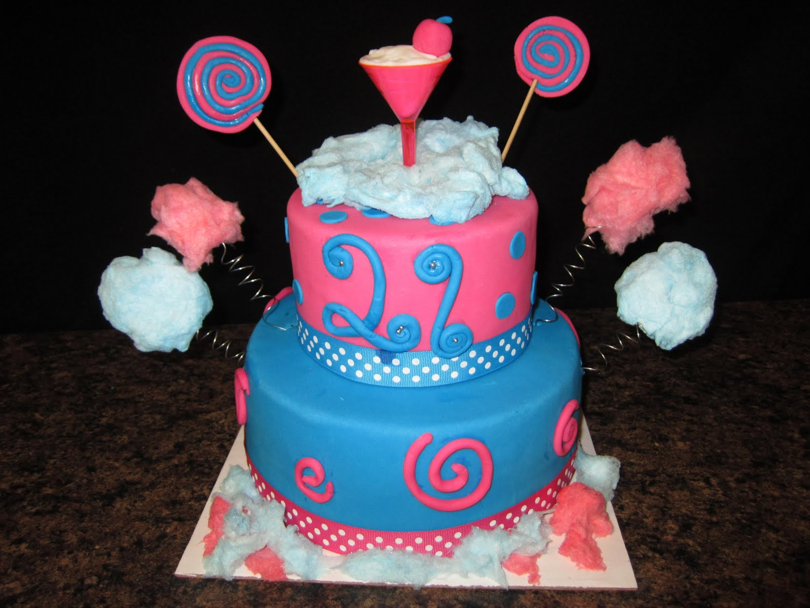 Sabtabulous Cakes Cotton Candykaty Perry Themed Cake