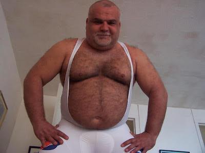 chubby hairy bear - hairy chested