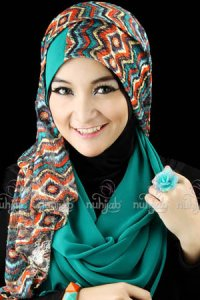 Nuhijab SSB Tribal - Tosca (Toko Jilbab dan Busana Muslimah Terbaru)
