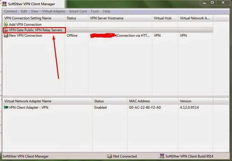 SSH Server Client Dengan Softether VPN Client