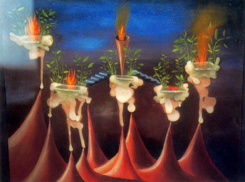 THE CORNER OF MY DISADVANTAGES: REMEDIOS VARO - A TRIP TO THE INSIDE OF FEMALE CONSCIOUSNESS